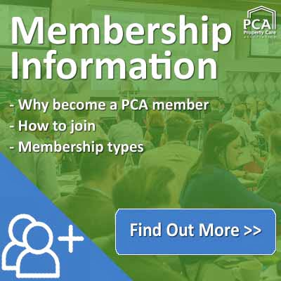 PCA Membership information - Property Care Association