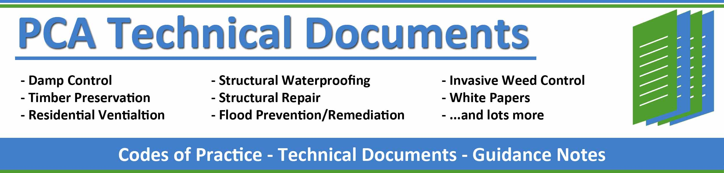 PCA Technical Document Library