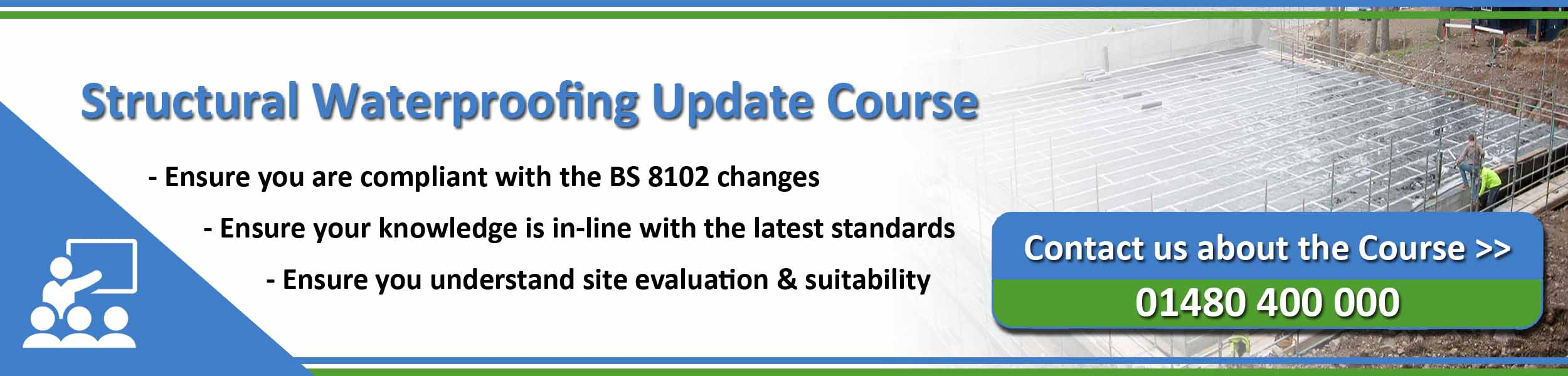 PCA Structural waterproofing update course