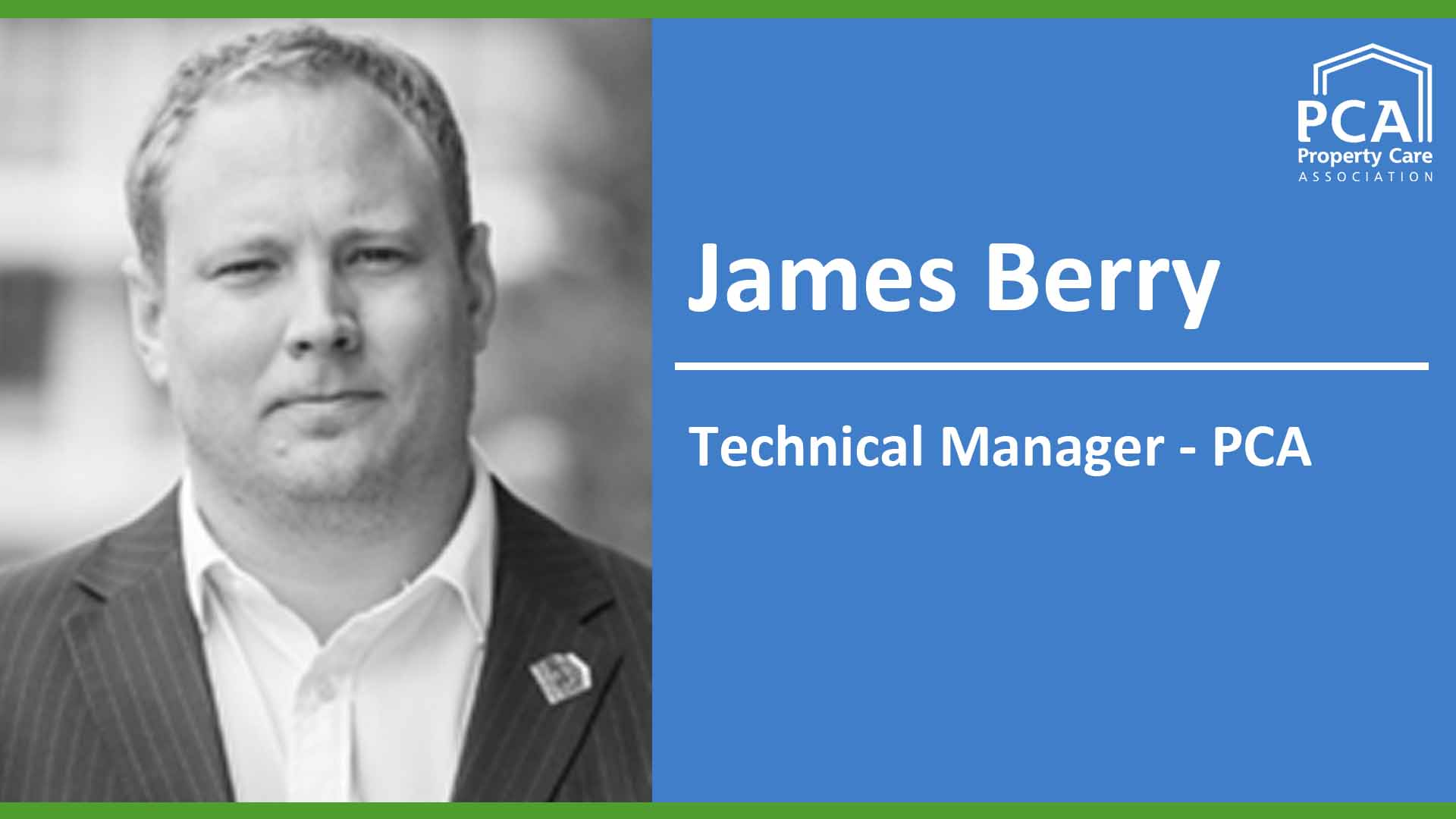 James Berry - trainer - Timber & dampness surveyor training