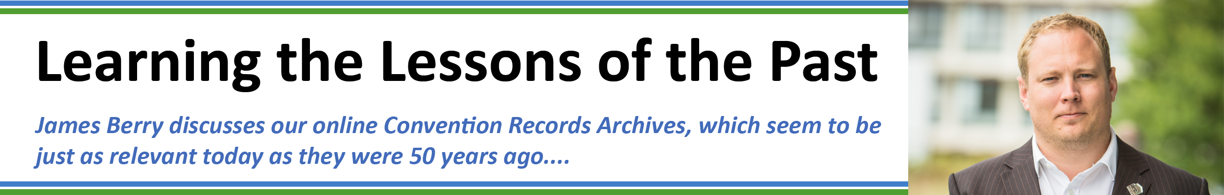 PCA Convention Records_Learning the Lessons from the Past