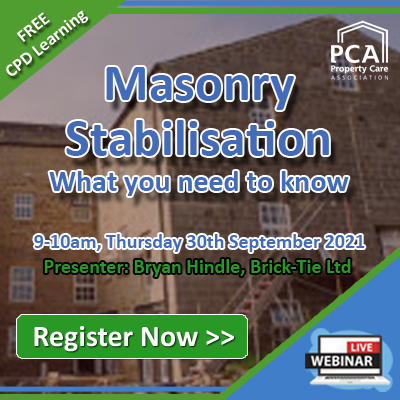 Webinar - Masonry Stablisation - What you need to know